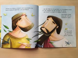 Botezul lui Iisus - Editura Gama