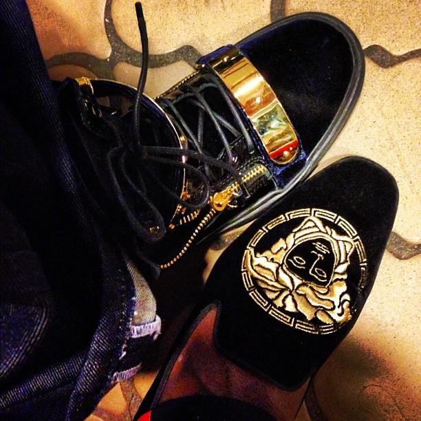 Trinidad James Versace Shoes