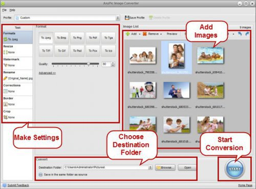 AnyPic Image Converter 1.2.0 Build 1503 + Patch