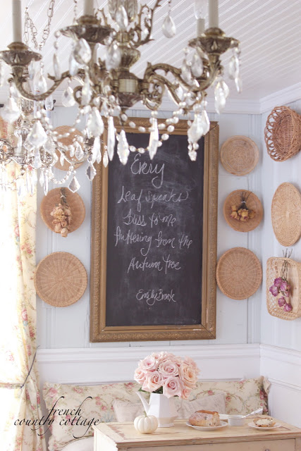 4 simple and charming early autumn decor ideas french