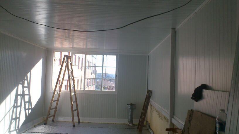 Cerramiento completo de una terraza en zaragoza alces carpinter a de aluminio en zaragoza - Persianas aragon ...