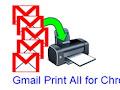 In hàng loạt thư Gmail trong Chrome