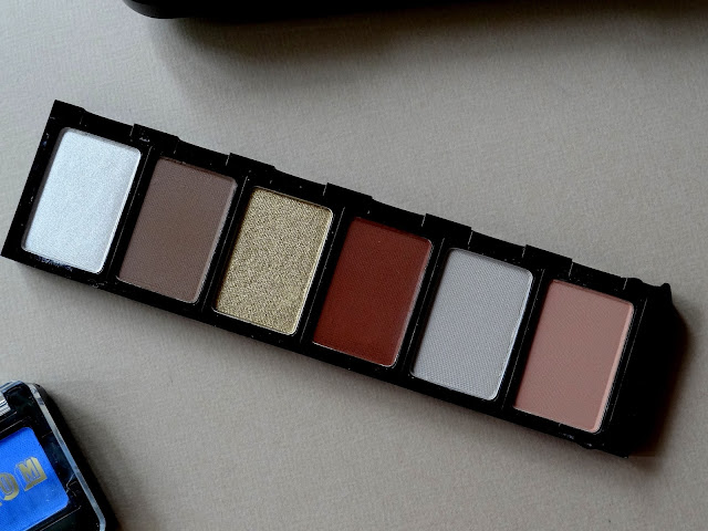 BUXOM Eyeshadow Bar Single Eyeshadows and Customizable Palettes Review, Photos, Swatches