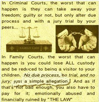 Criminal Family Courts