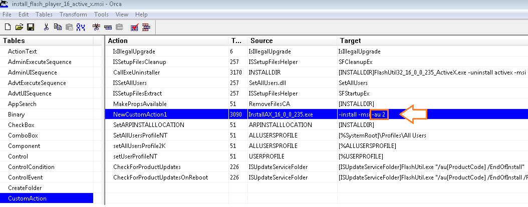 how to create msi package for sccm
