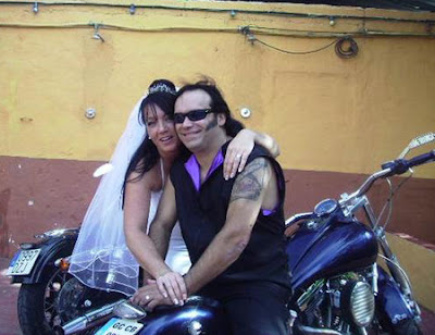 Blaze Bayley And Debbie Hartland Wedding