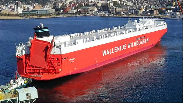 Características de carga del buque Tønsberg