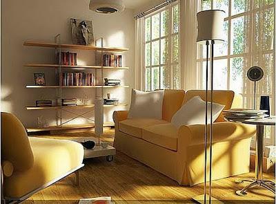 Gambar Desain Ruang Tamu Kecil