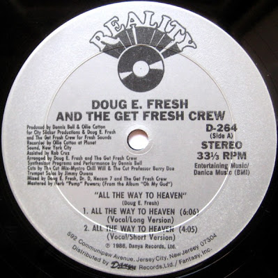 Doug E. Fresh And The Get Fresh Crew ‎– All The Way To Heaven (VLS) (1986) (256 kbps)