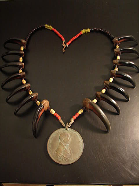 Bear claw necklace by carl merck for the love of contemporary bear claw necklace by carl merck mozeypictures Image collections