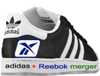adidas reebok mergers The german sporting goods manufacturer adidas-salomon today announced the friendly takeover of its rival reebok in a €31bn (£21bn) deal.