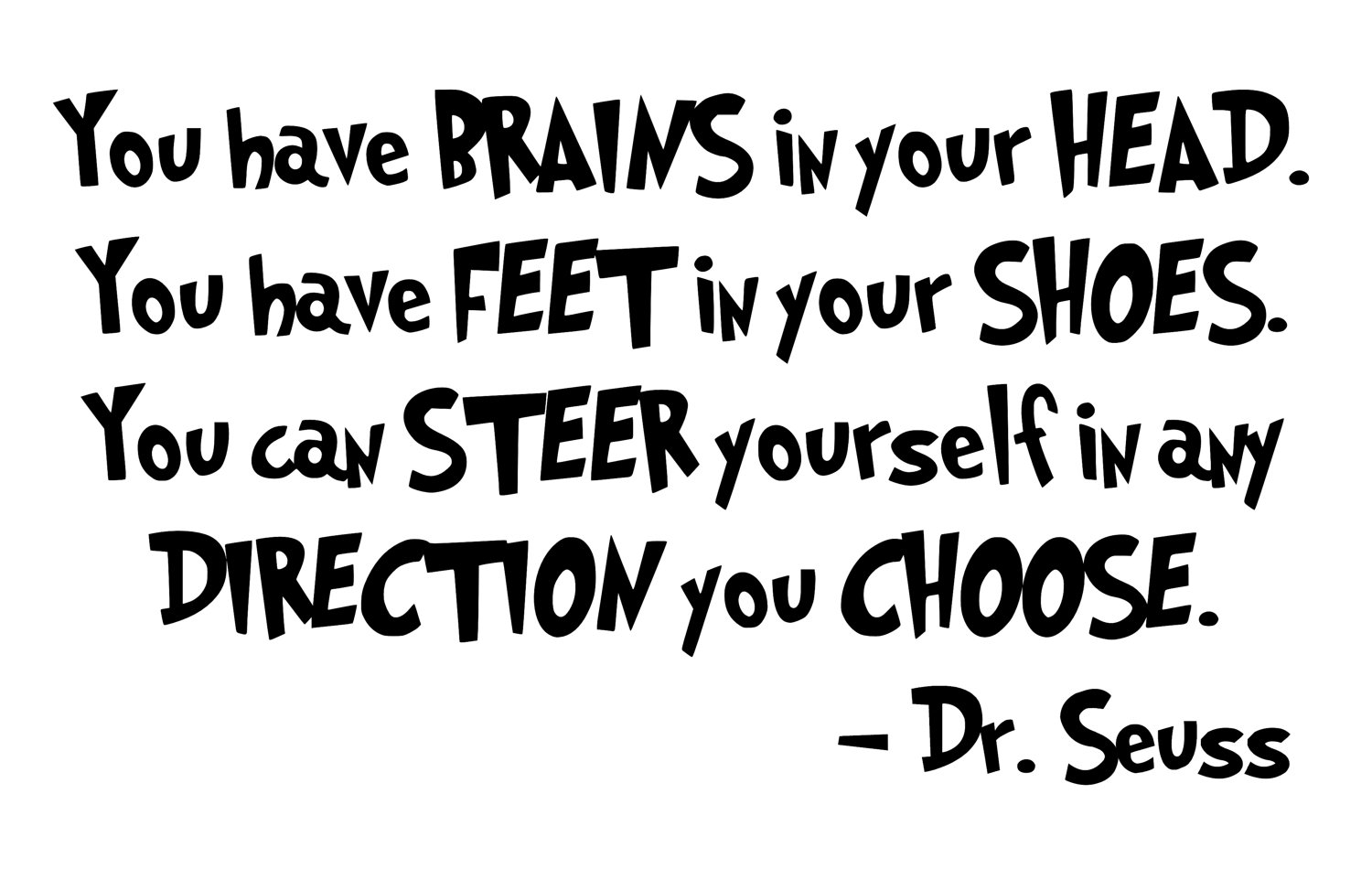 Cutting yourself quotes like success - From Dr Seuss Quotes Quotesgram