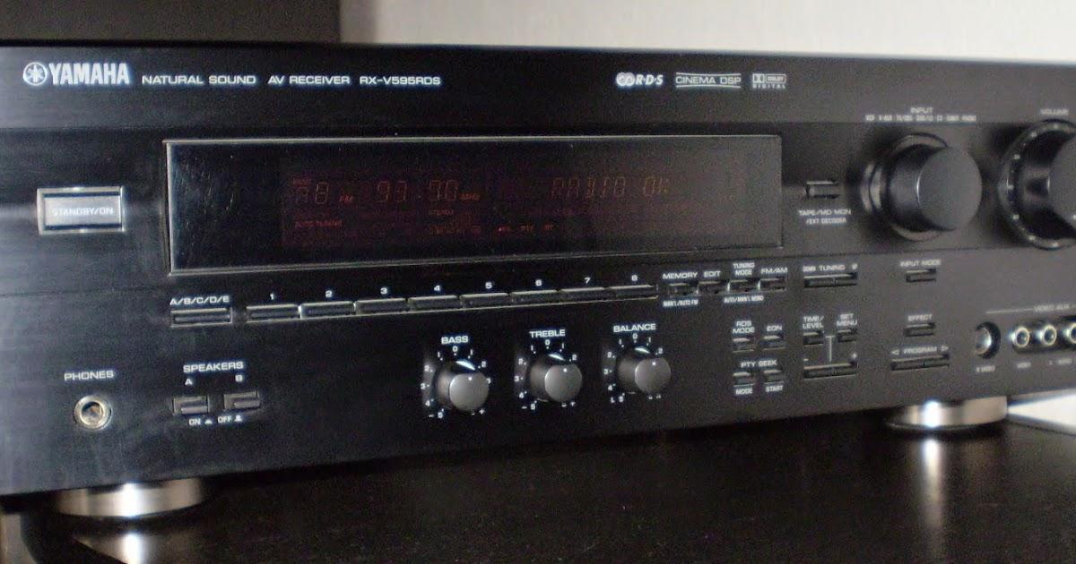 Yamaha Cinema Dsp Manual Rx V