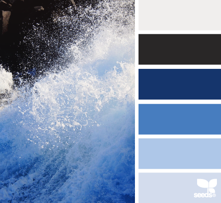 Paint your home with coastal colors for Coastal blue paint colors