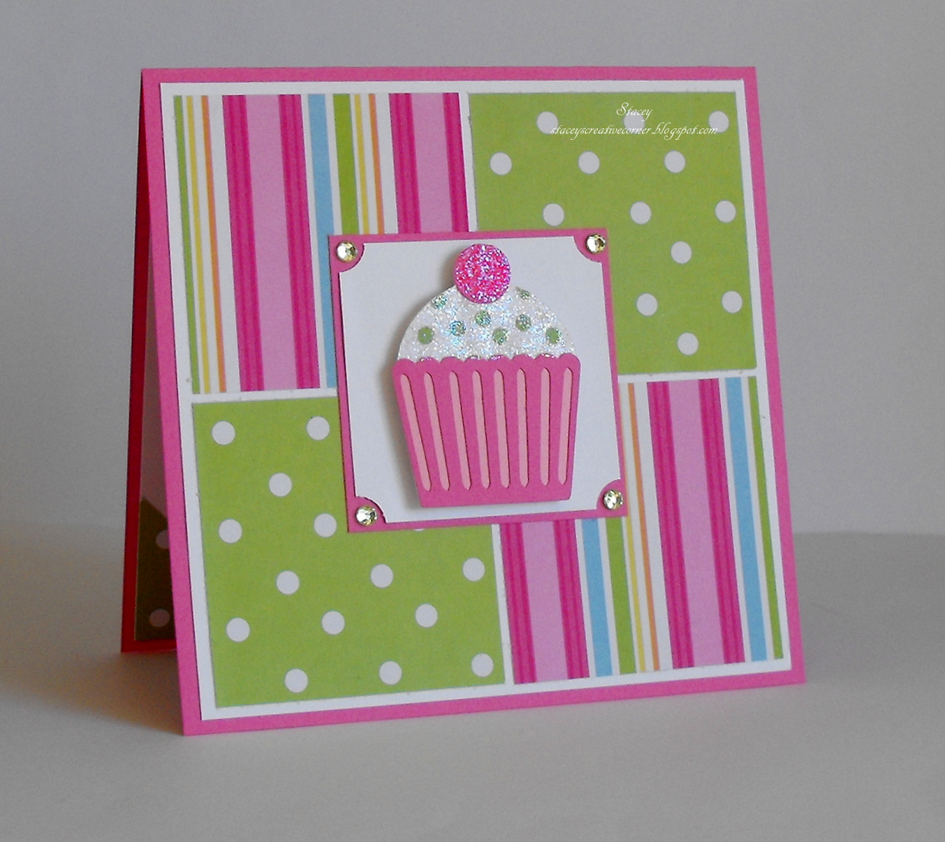 Stacey's Creative Corner: Birthday Card With Sketches