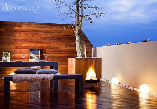 De mi mano by b4living decoracion de terrazas - Iluminacion para terrazas ...