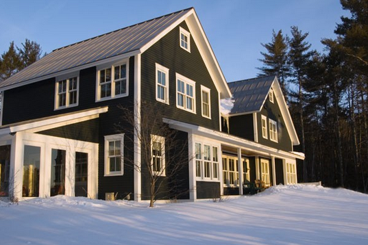 Black Siding With White Trim My Dream Home Pinterest