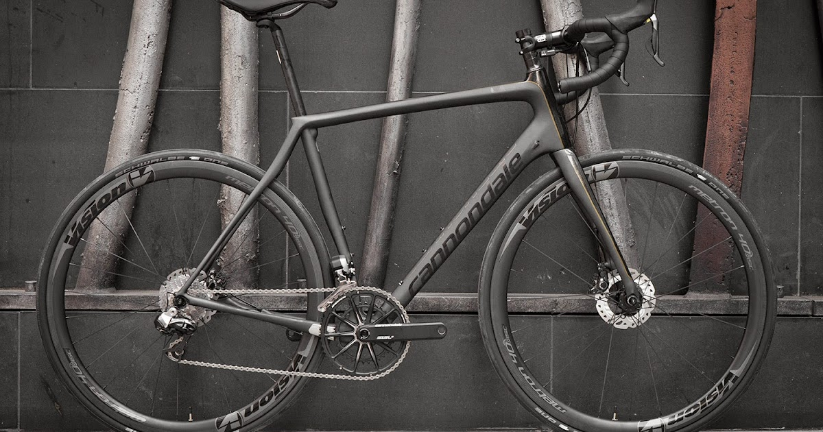 Bespoke Cycling Cannondale Black Inc Hi Mod Synapse Disc