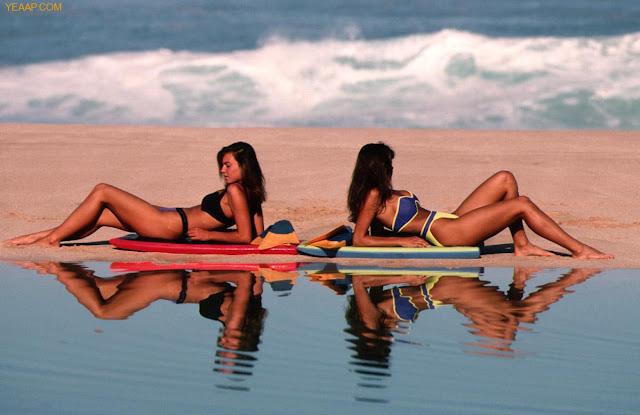Mujeres en la Playa