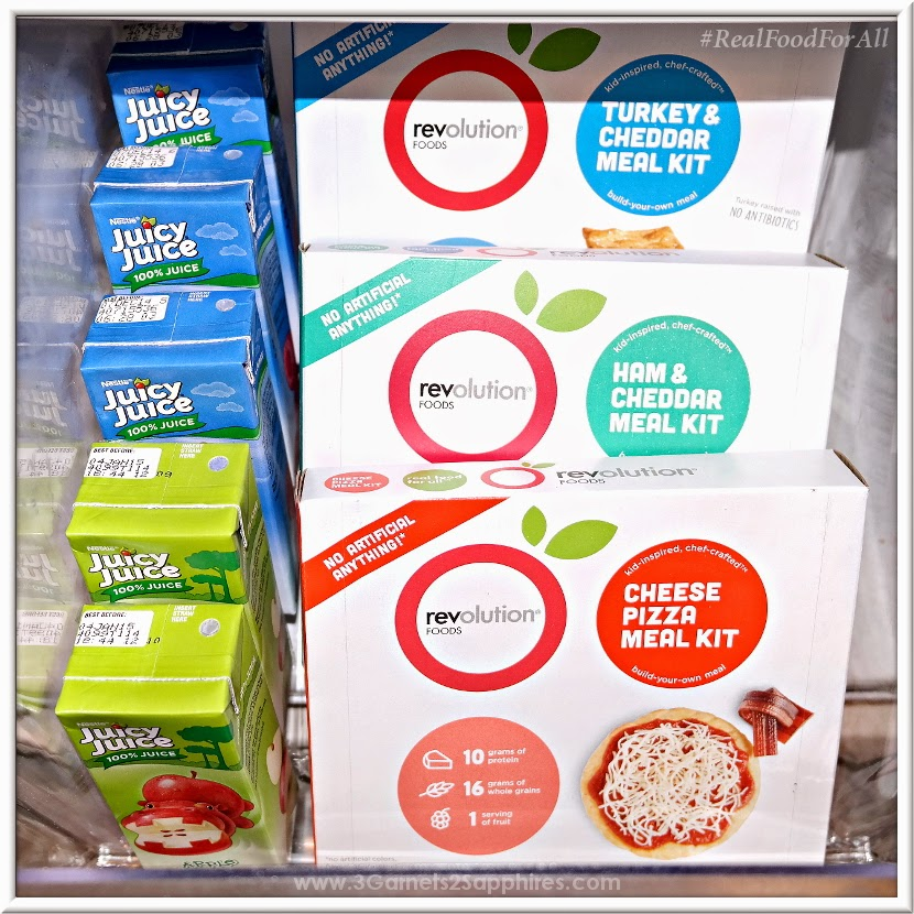 Revolution Foods convenient all-natural meal kits for children #RealFoodForAll #MC