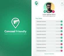 Travel & Local App of the Week - Conceal Friendly