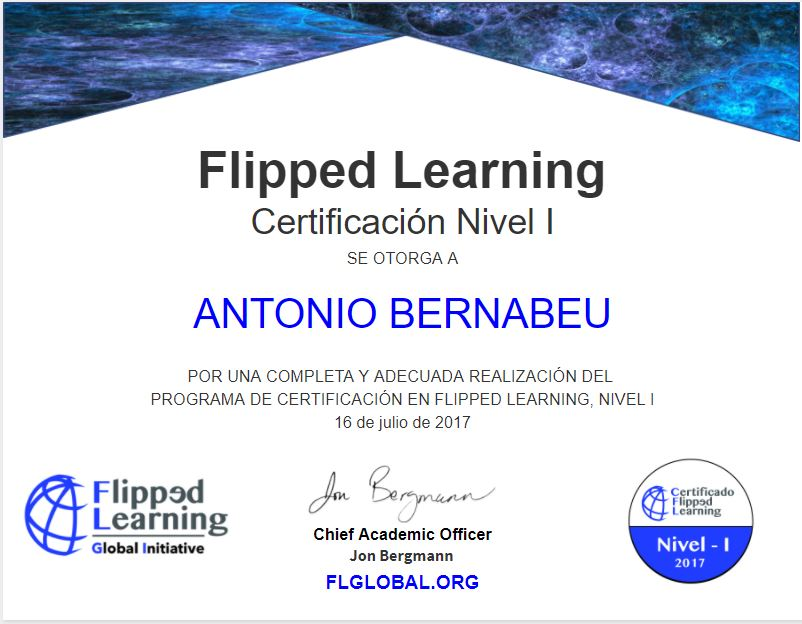 Curso Flipped Learning Nivel I