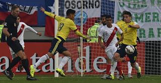 Colombia 0-0 Peru (Copa America 2015)
