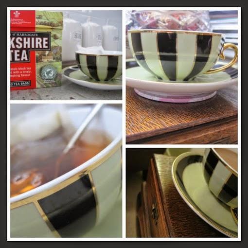 Tea Time with Natasha in Oz: Tea Cup Candles