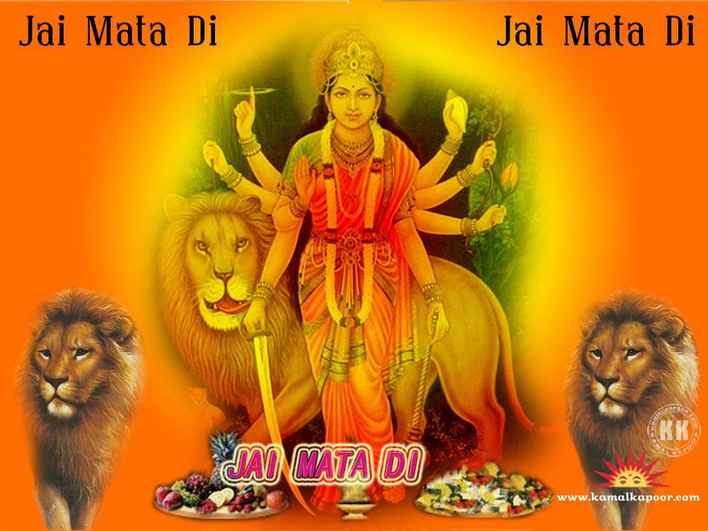 Wallpaper Of Maa Durga
