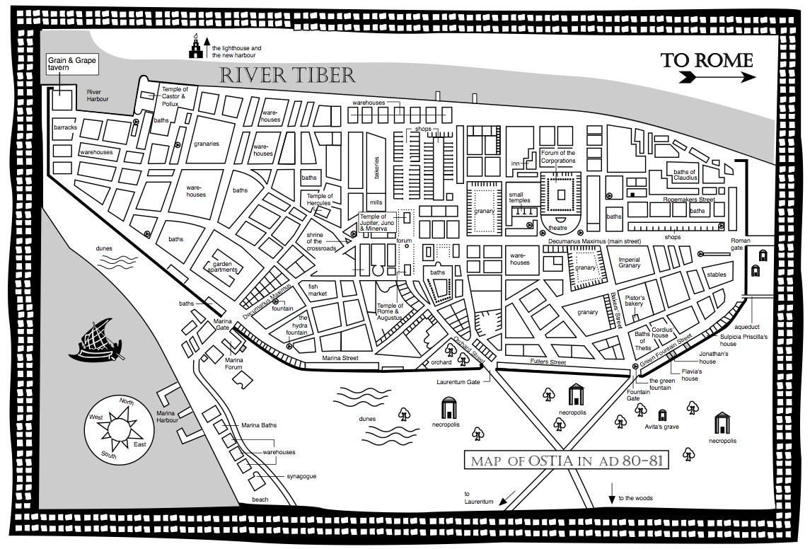 The History Girls: Maps R Us by Caroline (& Richard) Lawrence