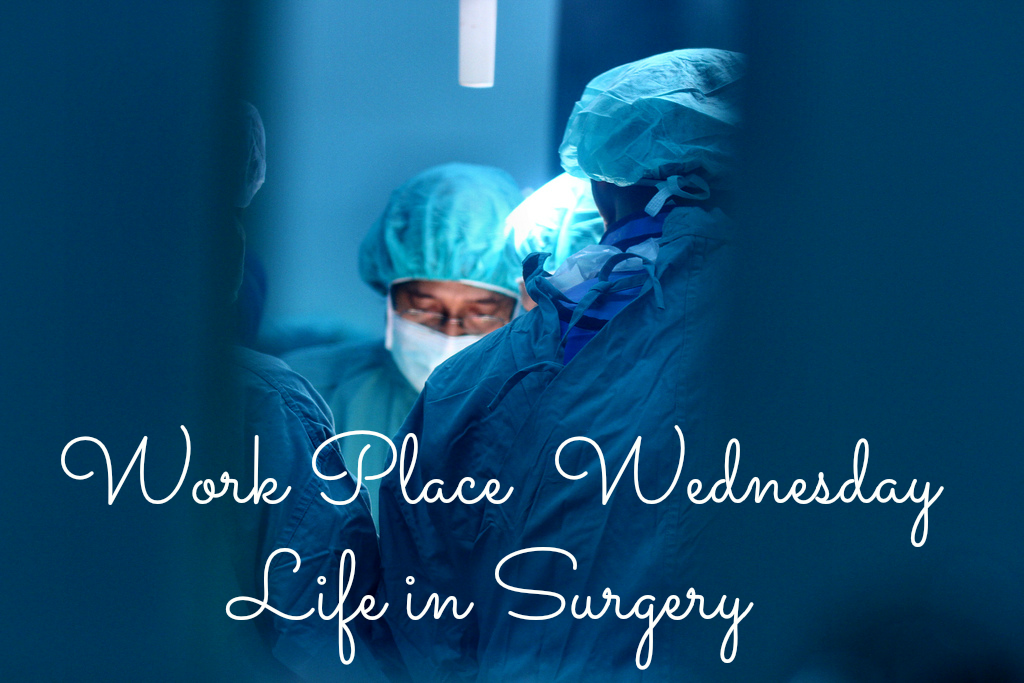 surgeons at work operating room