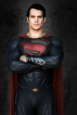 Man of Steel Cavill vpl bulge hero