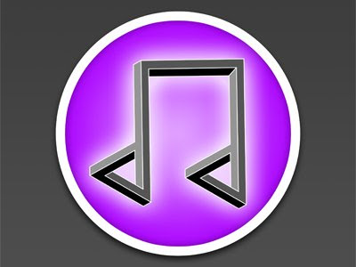 Impossible iTunes Logo Illusion