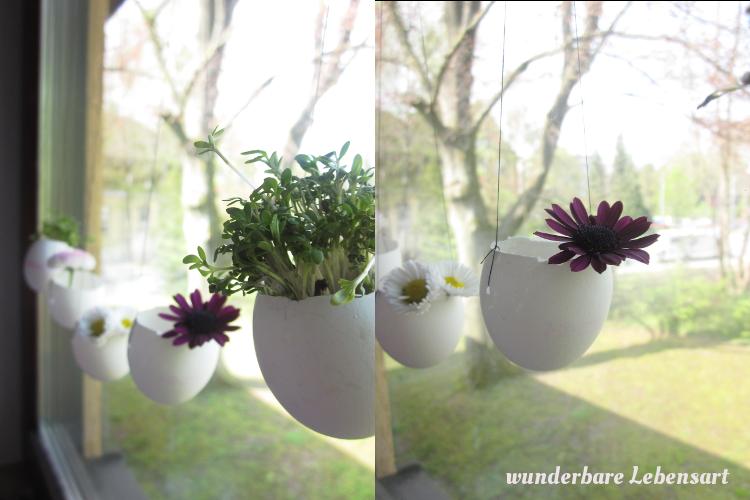 Wohnen, DIY und Rezepte DIY kleine Osterdeko für das Fenster
