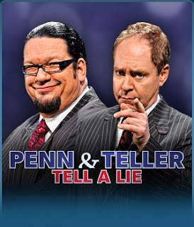 Penn & Teller Tell a Lie | TV Show | Watch on Kodi