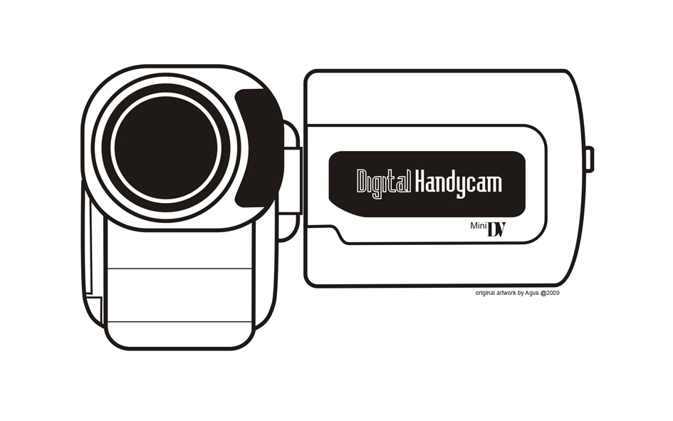 Handy Camcorder Coloring Pages Free Printable Pictures Coloring