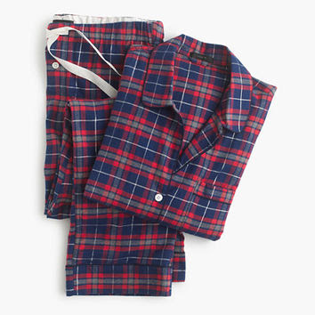 plaid j crew sparkle pajamas on sale preppy lifestyle blogger