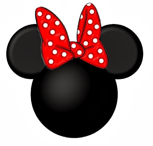 It is a graphic of Astounding Printable Minnie Mouse Bow