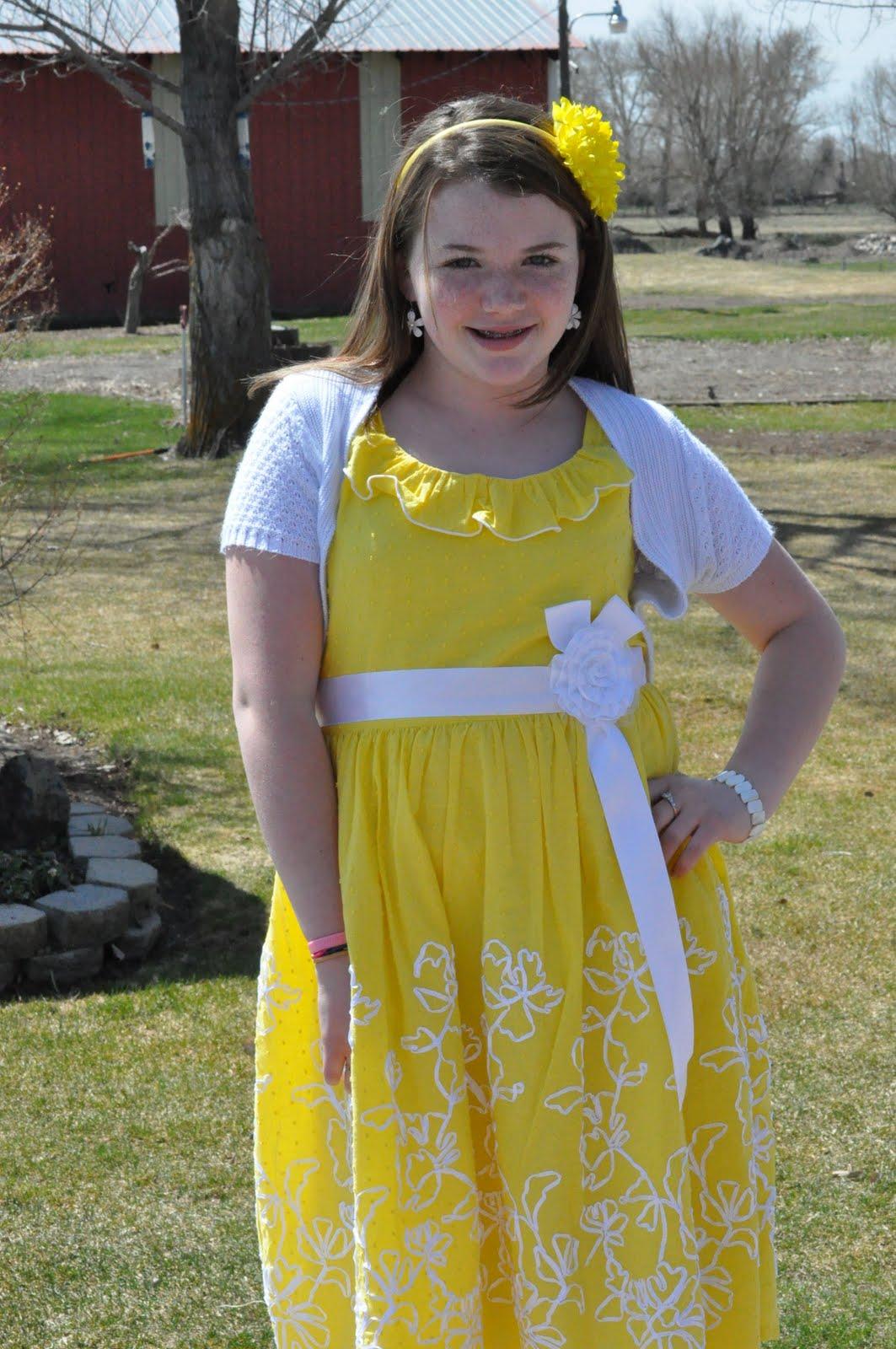 Easter Girl Dress Up