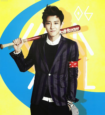 exo chanyeol calendar 2014