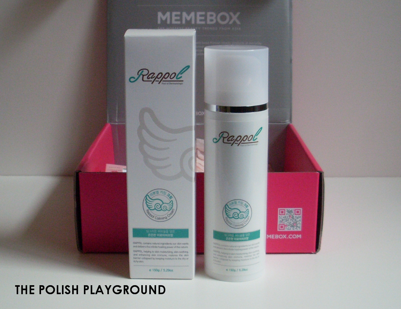 Memebox Superbox #54 Yogurt Cosmetics Unboxing - Rappol Calming Cream