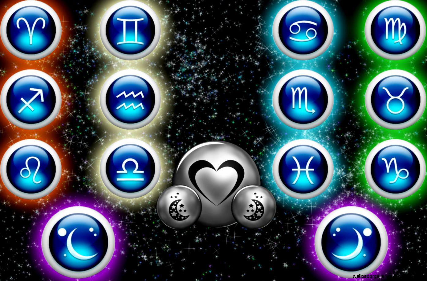 All Zodiac Icon Wallpaper HD Wide 13661 Wallpaper