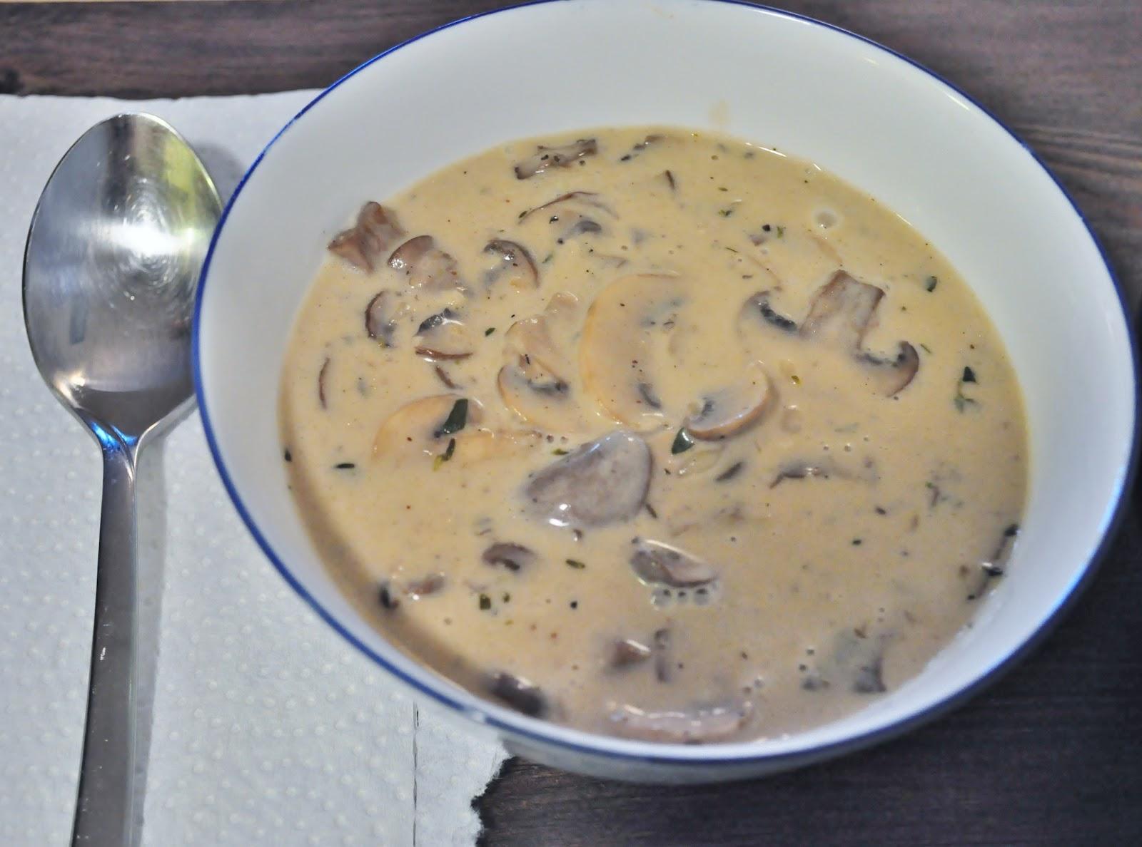 Грибной сырный суп из шампиньонов рецепт пошагово