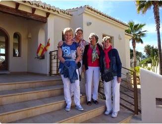 Moeders en dochters een weekend in Moraira