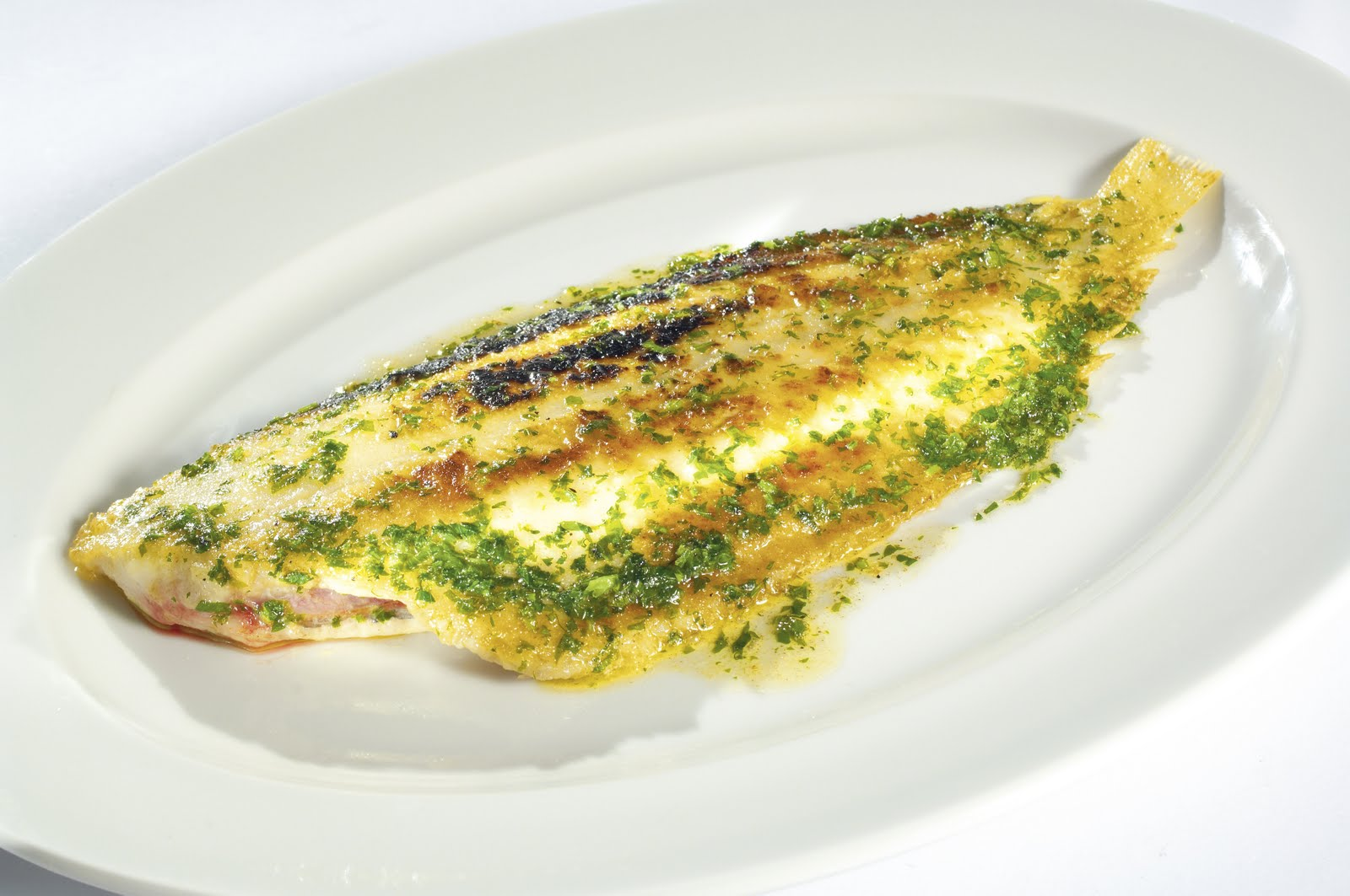 Kitchen files whole grilled dover sole for Dover sole fish