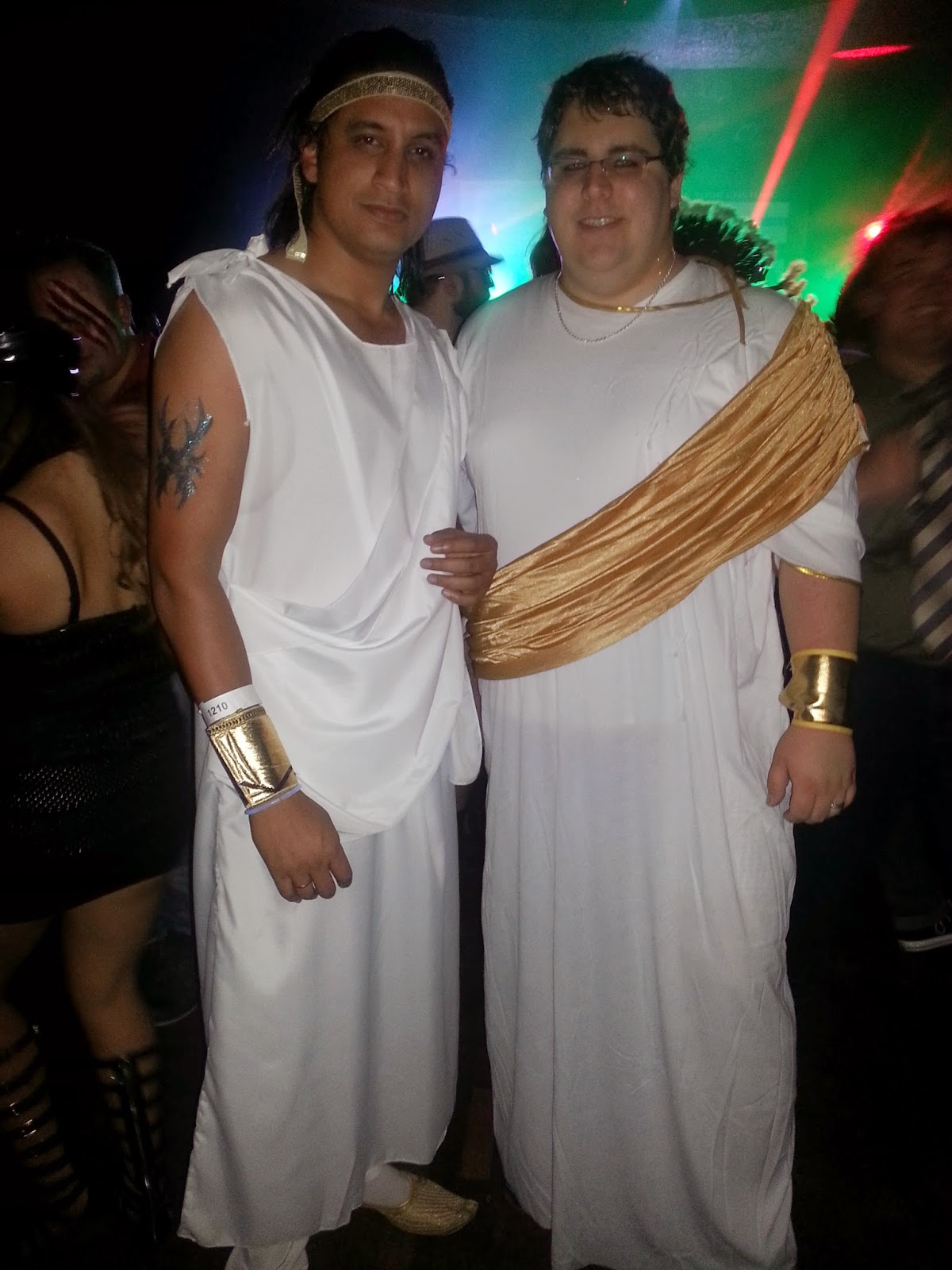 Greek God costumes, Decent Halloween costumes, Indian couple in Halloween costumes, Unique ideas for halloween