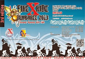 Fire X Ride Kunang-Kunang Nite Ride Jamboree 2013 - 7 December 2013