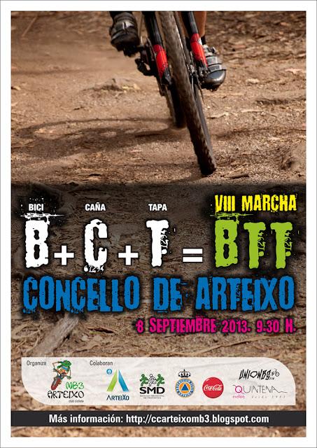 VIII Marcha BTT Concello de Arteixo, 2013 00+Cartel+Marcha+2013