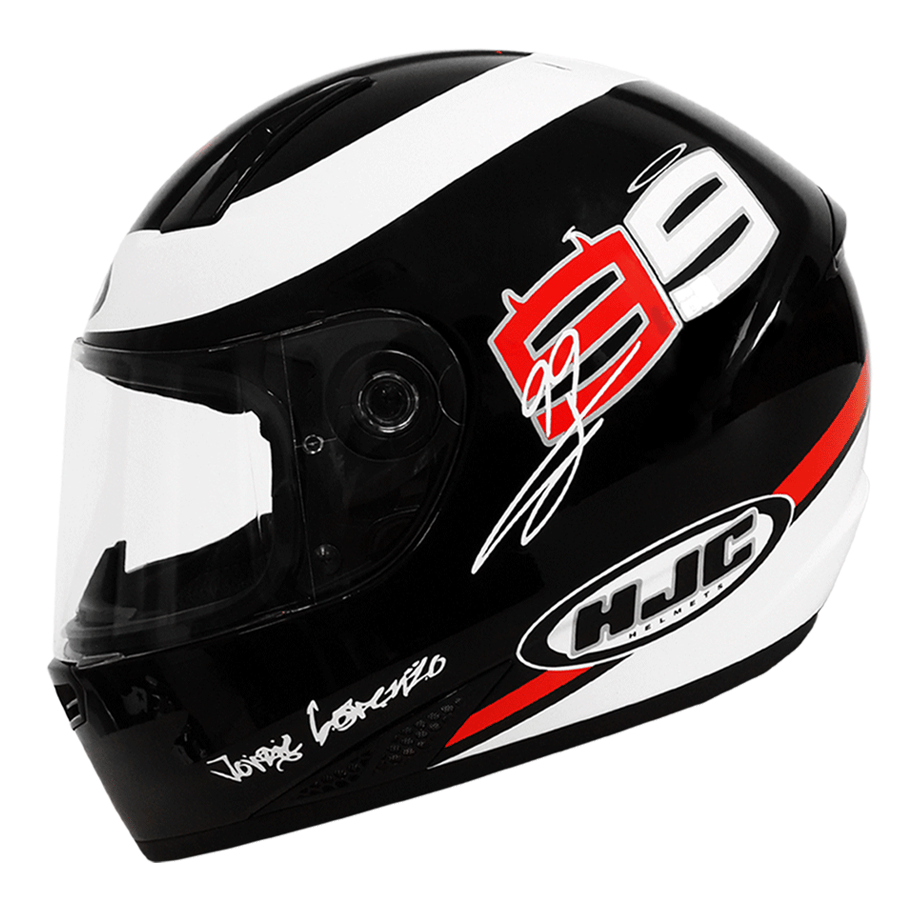 Helm HJC 99 Jorge Lorenzo juga dijual untuk umum . . .