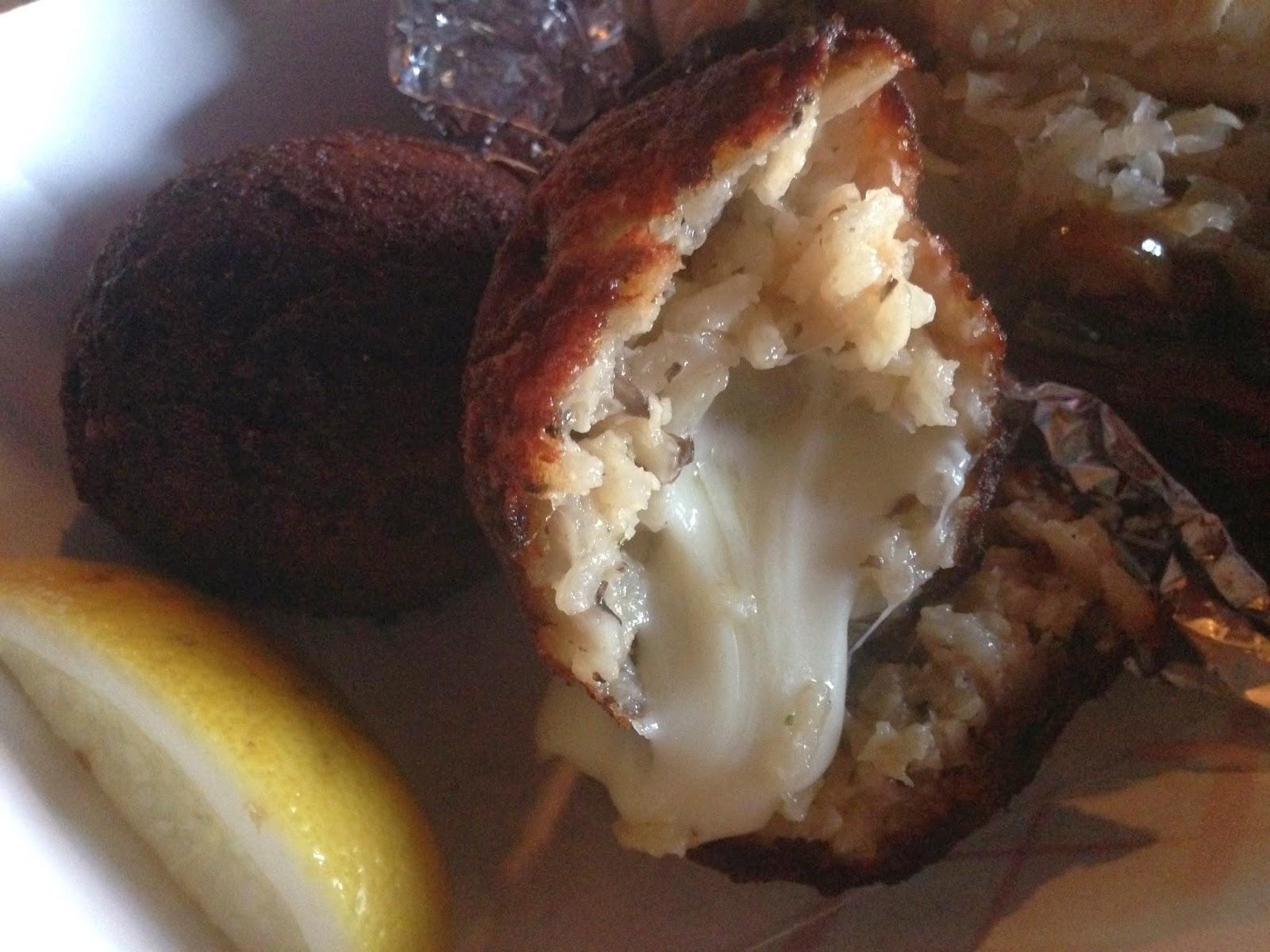 Way Good Serva-Teria Food Truck, Houston TX - Fried Risotto Balls